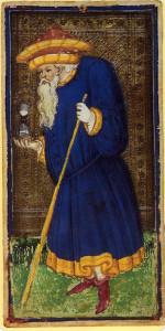 Hermit_Visconti-Sforza_tarot
